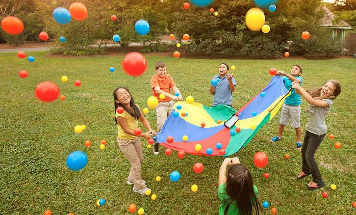 Fun outdoor kids